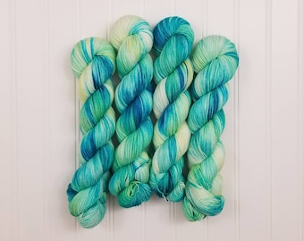 Lights - BTS inspired - Hand dyed yarn  - Indie dyed