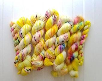 Usagi -  hand dyed yarn - indie dyed yarn - Superwash Merino