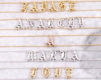 Name Choker | Personalized Choker Necklace | Custom Name Choker | Bridesmaid Gift | Customized Jewelry
