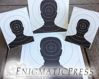 Pellet gun target | Etsy