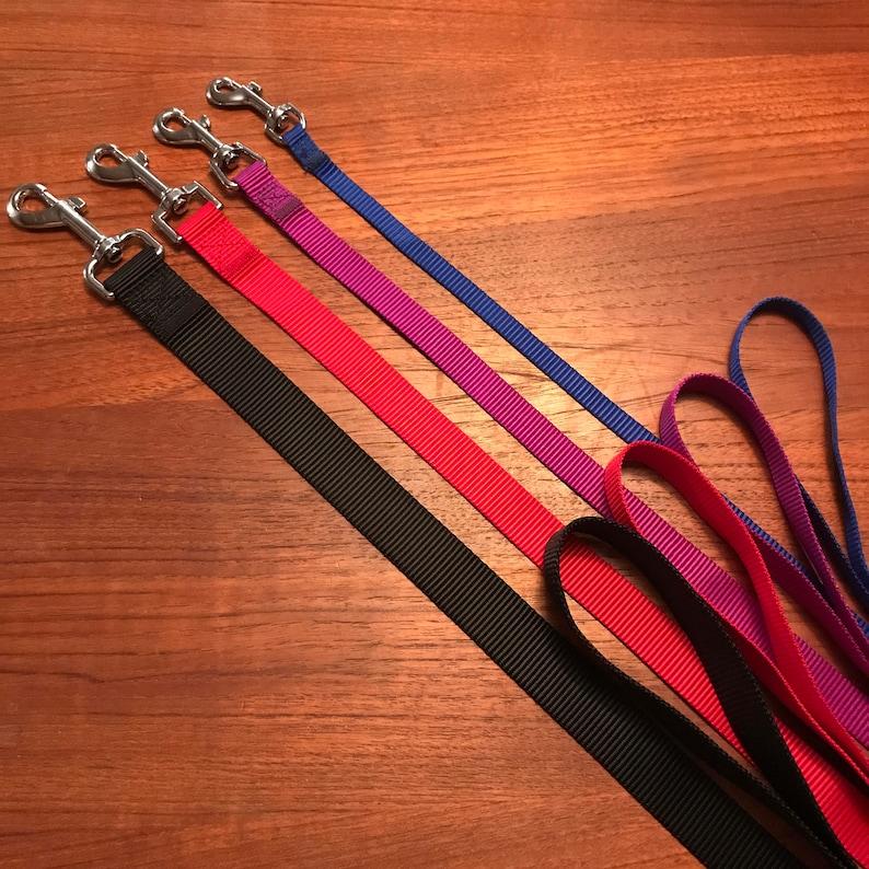 Custom Embroidered Dog Leash