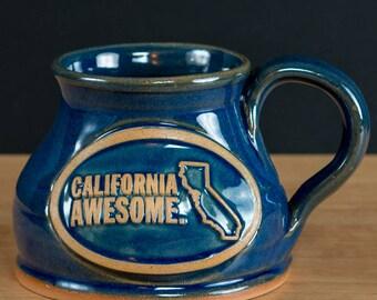 California Awesome Handmade Mug