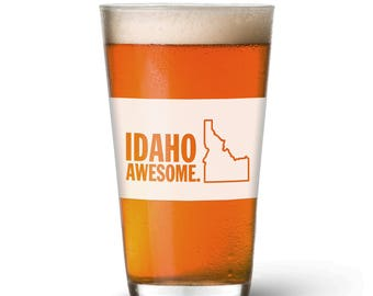 Idaho Awesome Pint Glass