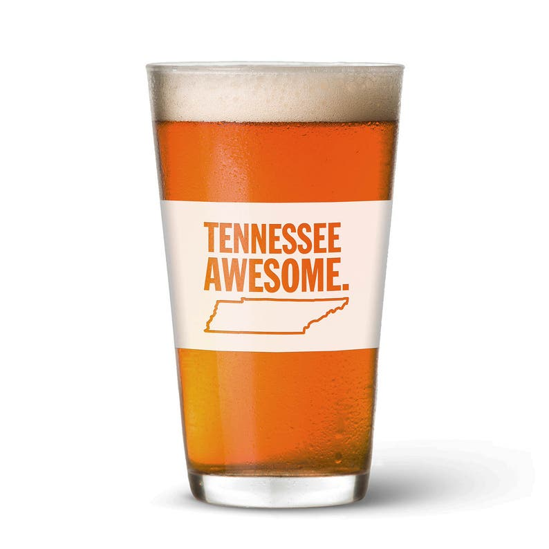 Tennessee Awesome Pint Glass image 0