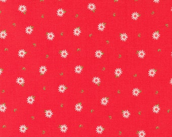 Sincerely Yours, Chamomile Floral Blender, Geranium by Sherri & Chelsi for Moda Fabrics, 37614-12, Stitch Pink, Together