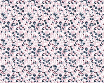 Whimsical Romance Willow Pink designed by Keera Job for Riley Blake Design, C11084-Pink, Floral, yardage