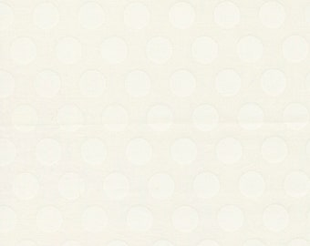 Sincerely Yours, Dots Blender, Ivory  by Sherri & Chelsi for Moda Fabrics, 37611-11, Stitch Pink, Geometric, Tone on Tone