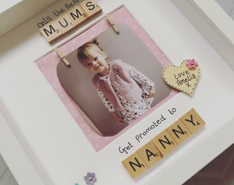 PERSONALISED Mothers Day Gifts- Mothers Day Frame - Personalised Mothers Day Frame - Mothers Day - Gift for Granny - Gifts for Nanny