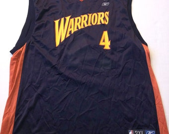 ba3d41d1348 Vintage Golden State Warriors Derek Fisher Rookie Jersey