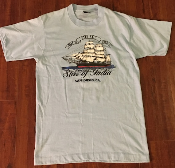 Vintage 1989 Star of India Star Sail San Diego CA