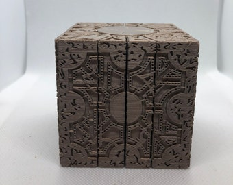 Hellraiser Inspired PLA Puzzle Box Lament convertible Configuration 2 models in 1