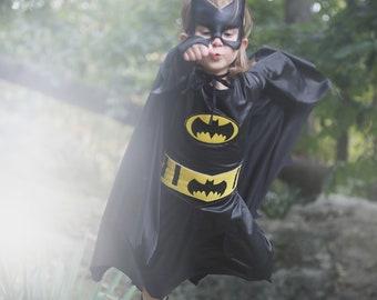 Batgirl Girls Costume for Kids