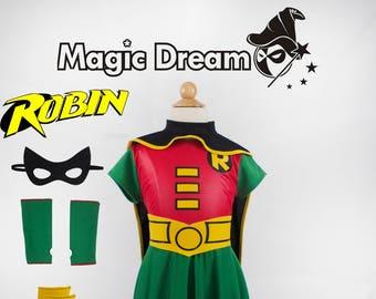 Robin Girl Costume for Kids