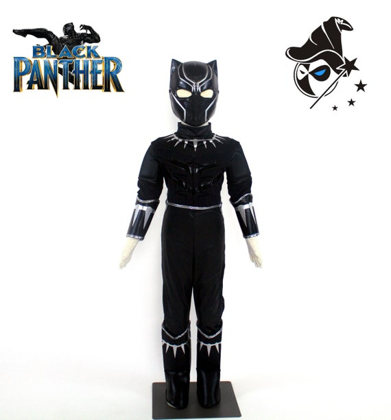 Black Panther Boys Costume for Kids