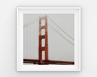 NEW Golden Gate Bridge, San Fransisco (California Adventure Photo,Travel Photos,Wall Art,Printable Art,Digital Prints,Digital Download)