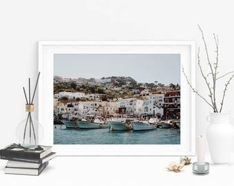 Capri Dock Photograph (Italy,Adventure Photo,Travel Photography,Wall Prints,Printable Art,Digital Prints,Mothers Day Gift,Digital Download)