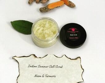 Indian Summer Salt Scrub (For Body)