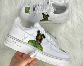 100 Dollar Bill Custom Nike Air Force 1 Sneakers | Etsy