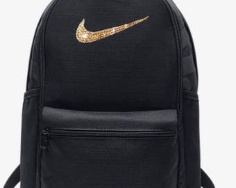 6a9d7bf022 Swarovski Nike Brasilia Training Backpack Embellished With Beautiful  Swarovski Crystals- custom book bag nike bling