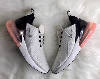 BLING Nike Air Max 270 With Swarovski Crystals Women s Custom Sneakers 98648849c