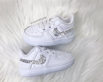 Air Force One 08 Gift Newborn Baby Shoes Bib and Hat White