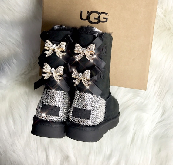 Ugg Boots With Swarovski Crystals