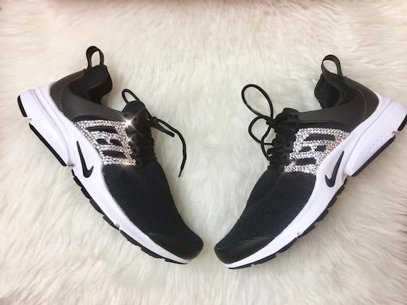 fb8faf4be45 Swarovski Crystal Women s Nike Presto Bling Custom Shoes