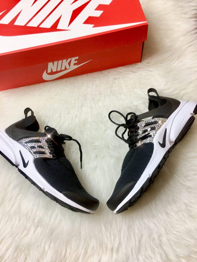 Swarovski Crystal Women s Nike Presto Bling Custom Shoes  794e291e2