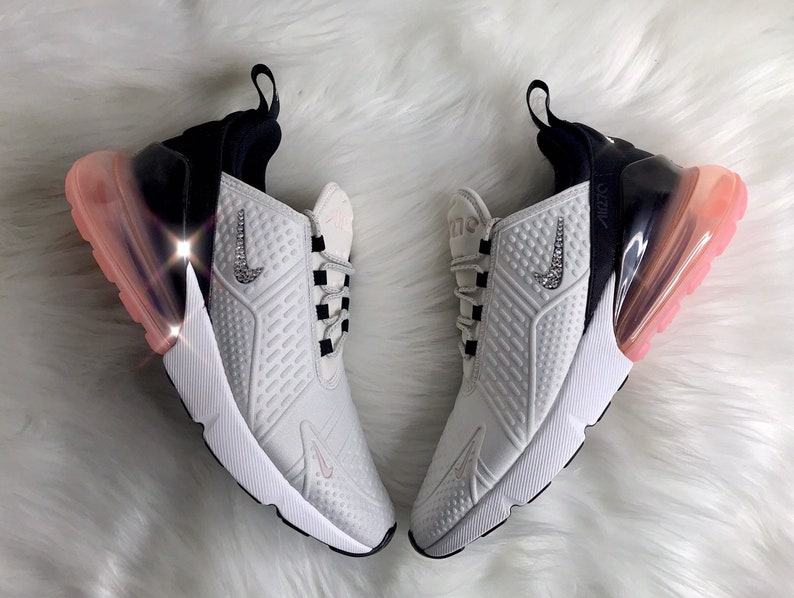 BLING Nike Air Max 270 With Swarovski Crystals Women s  22e9e621f5