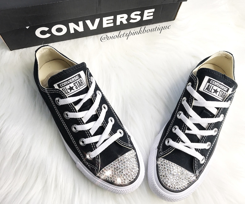 516877378567 Swarovski Crystal CONVERSE Chuck Taylor All Starts Women s