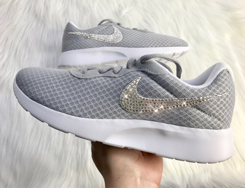 Bling Nike Tanjun With Beautiful Swarovski Crystals  1d7f5ad8e