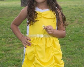 Belle Inspired Dress Up Apron