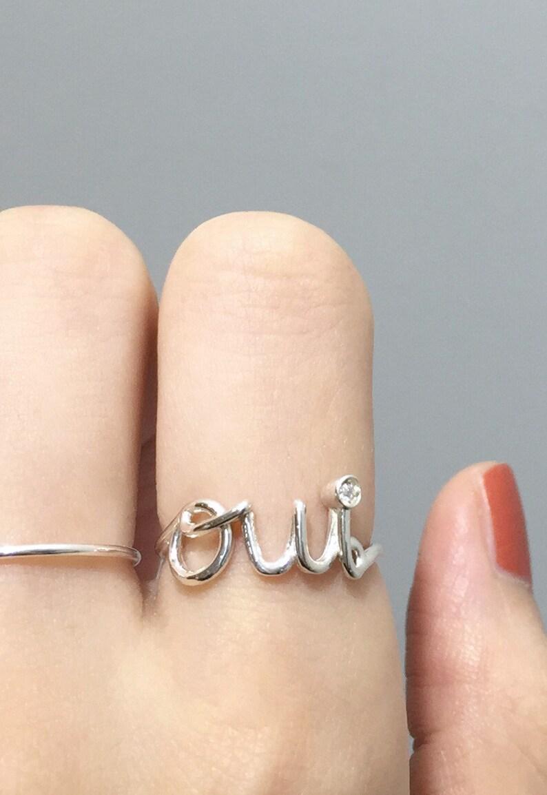 032194c52c1e Anillo de Oui plata 925 con cubic zirconia anillo de alambre