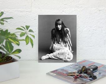 Joni Mitchell Poster - Retro Music Poster - Music Print - Wall Art - Bohemian Decor - Premium Semi-Gloss Photo Paper Poster