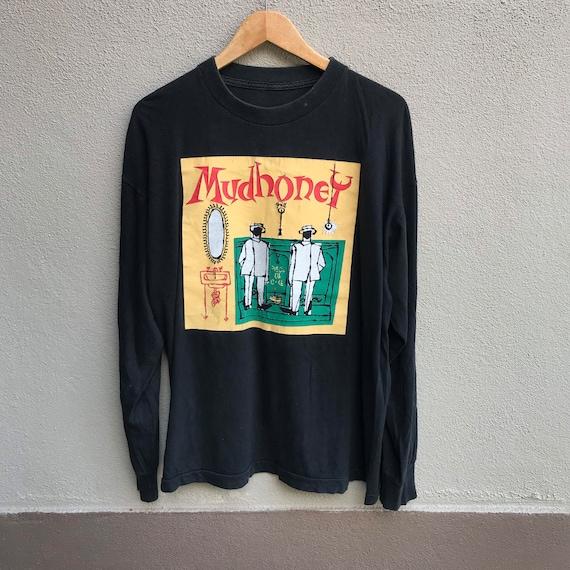Vintage rare 90s MUDHONEY band tee longsleeves sou