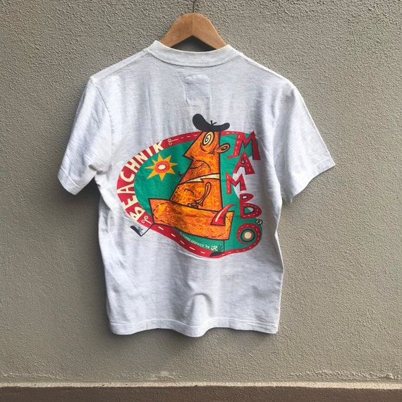 Vintage 90s MAMBO australia surf deluxe shirt mamb