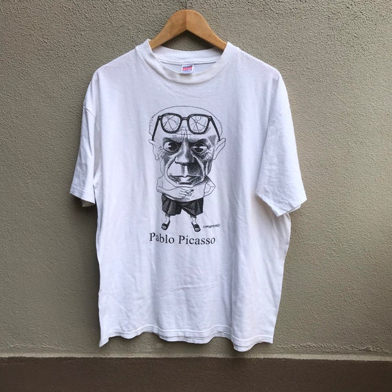 Vintage 90s PABLO PICASSO art tee keith haring dal