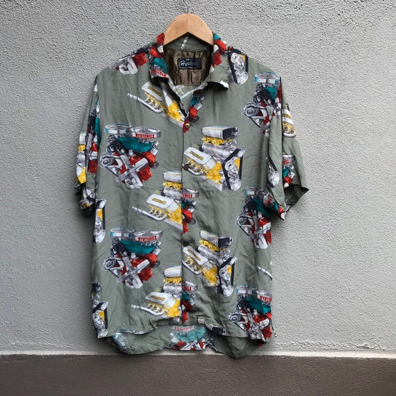 Vintage HYSTERIC GLAMOUR rayon japanese hawaiian s