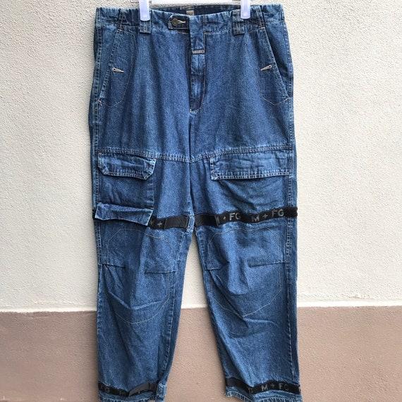 MARITHE FRANCOIS GIRBAUD jeans cargo pants rare de