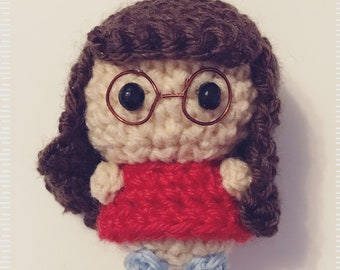 Jessica Day, New Girl, TV Series, Amigurumi, doll, presentidea, TV character