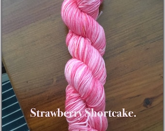 4Ply Hand Dyed Merino & Nylon Sock Yarn.