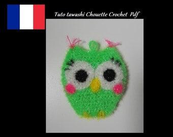 Tutoriels tawashi  Chouette Crochet