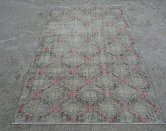 Items Similar To Pink And Green Rugs Black White Damask Rug Pink