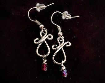 Twist Droplet Earrings