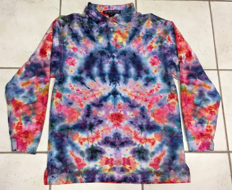 Special Run 12 Color Spectrum Tie Dye *New* Handmade No Pink Kids Youth Tees