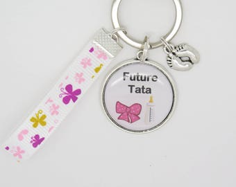 Porte clés personnalisable annonce de Grossesse future mamie   Etsy e6950d13e4e