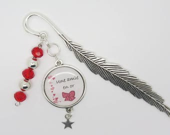 PERSONNALISABLE page brand gift for a golden brand page friend to customize granny mom godmother F of Bm creations
