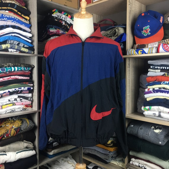 Vintage Nike Swoosh Multicolor Sweater