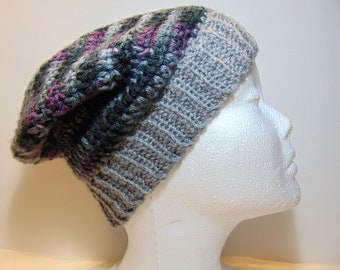 eb537de5899 Crochet Slouchy Beanie Hat