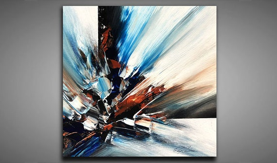 Abstract Painting Wall Art Contemporary Abstract Modern Art Youtube Painting Ray Grimes 12x12
